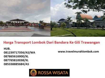Harga Transport Lombok Dari Bandara Ke Gili Trawangan