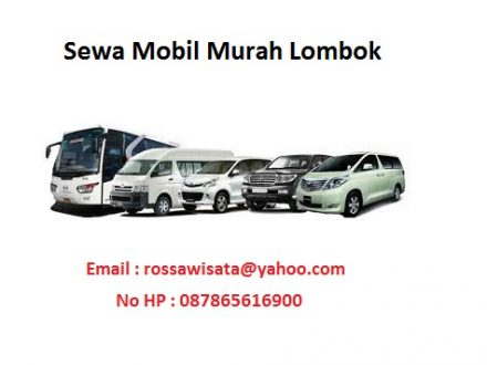 Sewa Mobil Murah Meriah Lombok